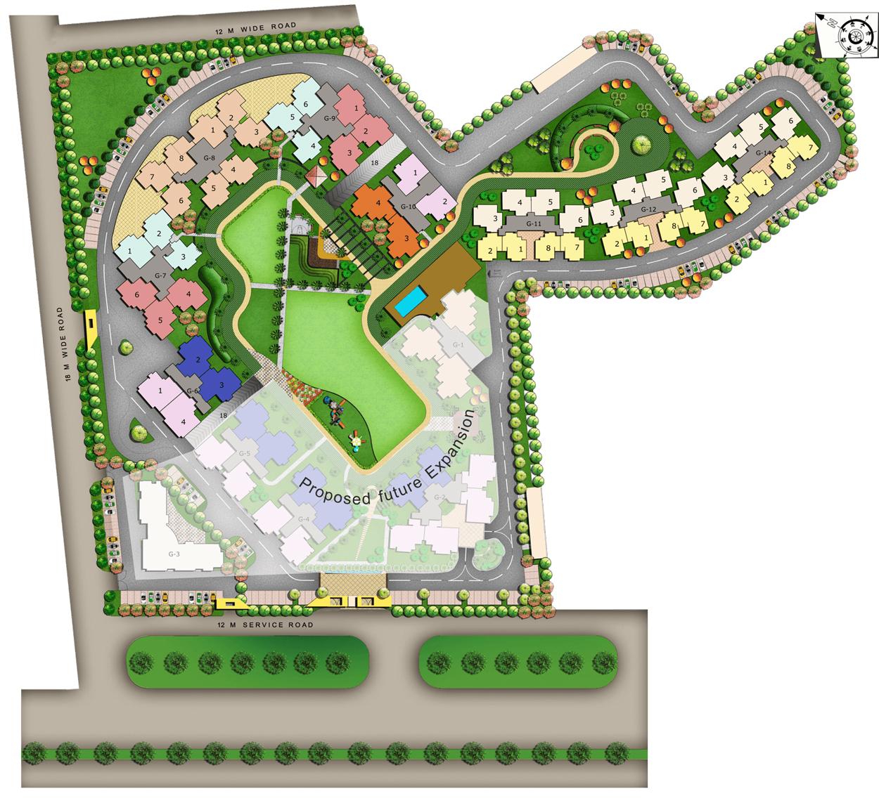 Nirala Greenshire Site Plan